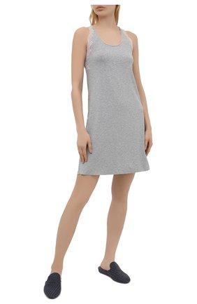 Женская сорочка GIANANTONIO PALADINI серого цвета, арт. S15PC05/S | Фото 2