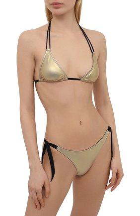 Женский плавки-бикини GIANANTONIO PALADINI золотого цвета, арт. S13NS01   Фото 2