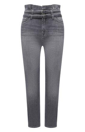 Женские джинсы 7 FOR ALL MANKIND серого цвета, арт. JSQAR880RE   Фото 1