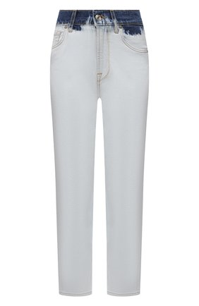 Женские джинсы 7 FOR ALL MANKIND светло-голубого цвета, арт. JSA7B610HT   Фото 1