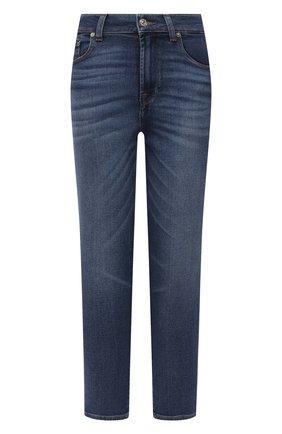 Женские джинсы 7 FOR ALL MANKIND синего цвета, арт. JSA71200UK   Фото 1