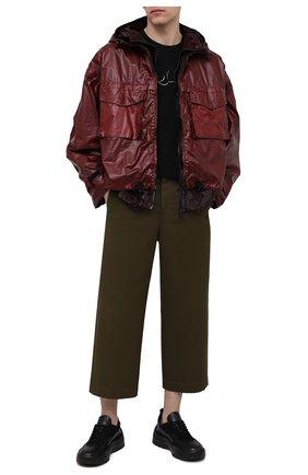 Мужская куртка DOLCE & GABBANA бордового цвета, арт. G9UJ1Z/FUSNG | Фото 2