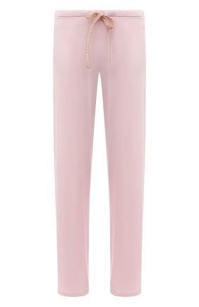 Женские брюки LA PERLA розового цвета, арт. 0043830/G249 | Фото 1