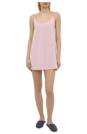 Женская сорочка LA PERLA розового цвета, арт. 0043840 | Фото 2