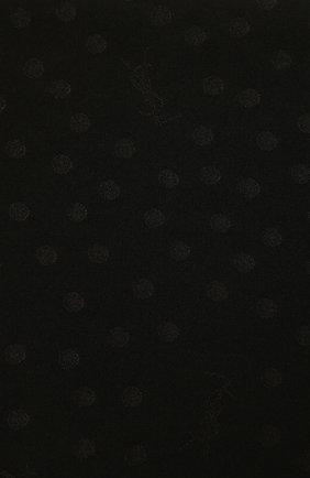 Женский шелковый шарф SAINT LAURENT черного цвета, арт. 661092/3Y011 | Фото 2
