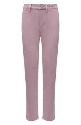 Женские брюки из хлопка и вискозы PAIGE розового цвета, арт. 6718G29-4699 | Фото 1