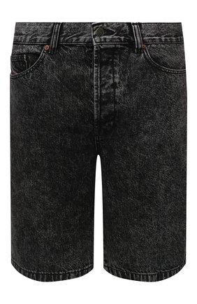 Мужские джинсовые шорты DIESEL темно-серого цвета, арт. A02546/0HBAQ | Фото 1