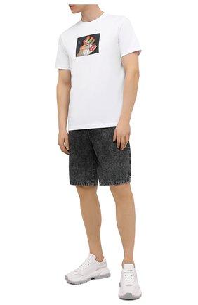Мужские джинсовые шорты DIESEL темно-серого цвета, арт. A02546/0HBAQ | Фото 2
