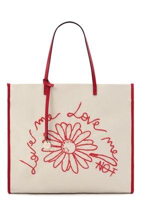 Женский сумка-шопер REDVALENTINO разноцветного цвета, арт. VQ0B0C07/PQV   Фото 1