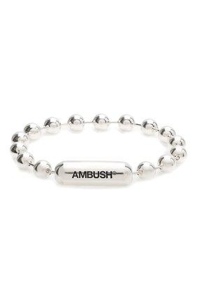 Мужской серебряный браслет AMBUSH серебряного цвета, арт. BM0A011S21MET001 | Фото 1