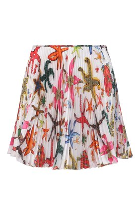 Женская плиссированная юбка VERSACE разноцветного цвета, арт. A89214/1F01278 | Фото 1