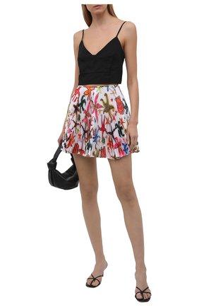 Женская плиссированная юбка VERSACE разноцветного цвета, арт. A89214/1F01278 | Фото 2