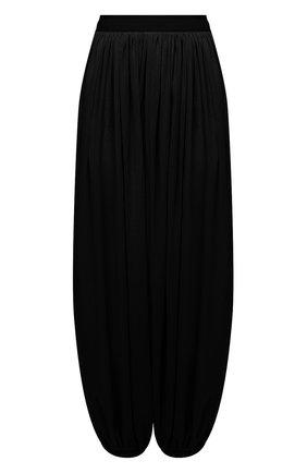 Женские хлопковые брюки loewe x paula's ibiza LOEWE черного цвета, арт. S616Y04X04 | Фото 1 (Силуэт Ж (брюки и джинсы): Широкие; Женское Кросс-КТ: Брюки-одежда; Стили: Спорт-шик; Длина (брюки, джинсы): Стандартные; Материал внешний: Хлопок)