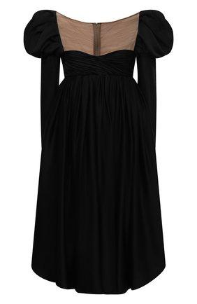 Женское платье KHAITE черного цвета, арт. 5180401/TRISHA | Фото 1