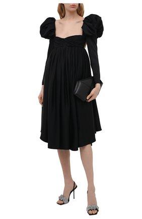 Женское платье KHAITE черного цвета, арт. 5180401/TRISHA | Фото 2