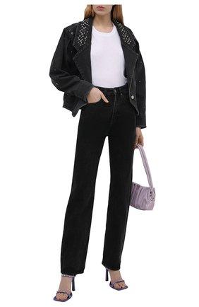 Женская джинсовая куртка ISABEL MARANT черного цвета, арт. VE1580-21E048I/DEPALINE | Фото 2