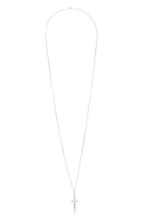 Женская кулон на цепочке LEVASHOVAELAGINA серебряного цвета, арт. chrome2/n | Фото 1