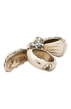 Женское кольцо LANVIN серебряного цвета, арт. AW-CJGR03-B0WS-E21 | Фото 2
