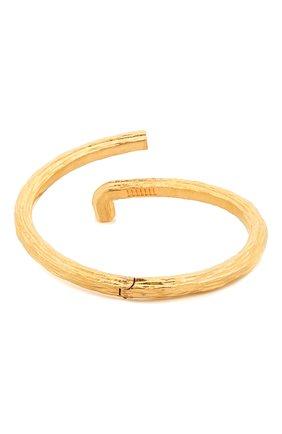 Женский браслет OFF-WHITE золотого цвета, арт. 0W0A047S21MET0017600 | Фото 1