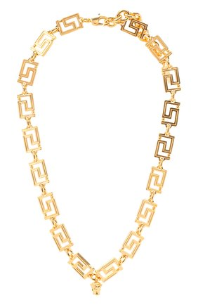 Женское колье VERSACE золотого цвета, арт. DG17593/DJMT | Фото 1