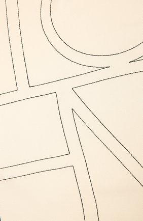 Женский шелковый платок TOTÊME бежевого цвета, арт. 212-873-803 | Фото 2