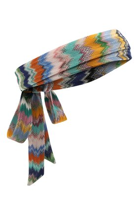 Женская повязка на голову MISSONI разноцветного цвета, арт. MMS00072/BR00E8 | Фото 1