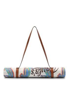Женского коврик для йоги loewe x paula's ibiza LOEWE белого цвета, арт. K000A21X02 | Фото 1 (Материал: Резина)