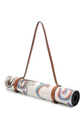Женского коврик для йоги loewe x paula's ibiza LOEWE белого цвета, арт. K000A21X02 | Фото 2 (Материал: Резина)