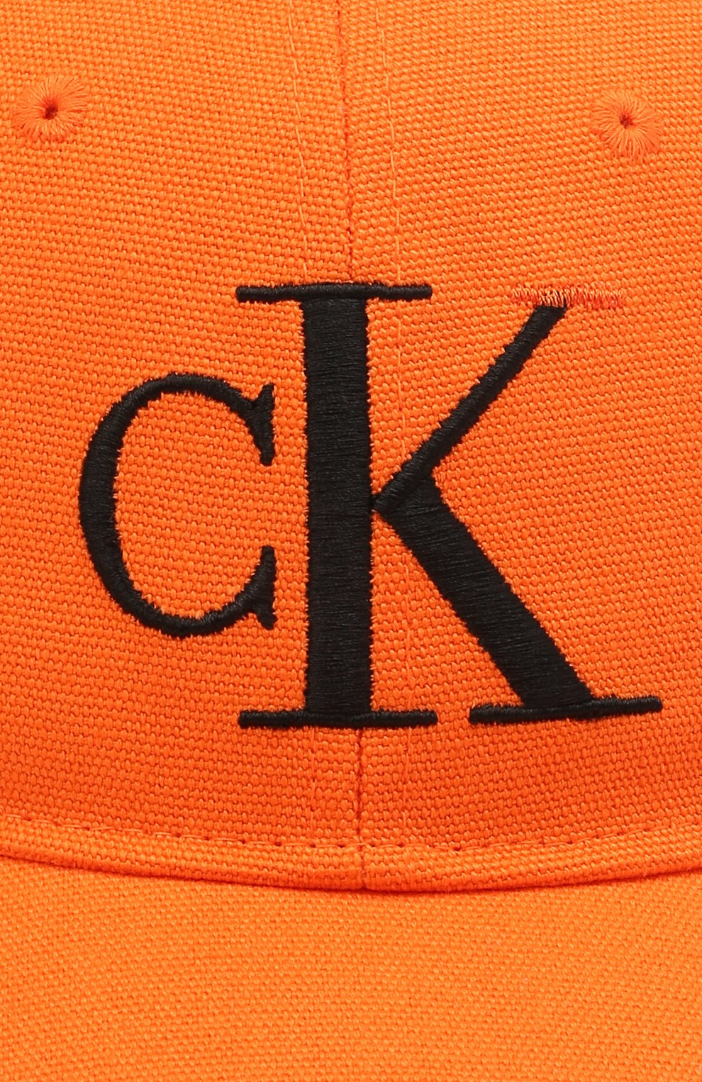 Женская хлопковая бейсболка HERON PRESTON FOR CALVIN KLEIN оранжевого цвета, арт. K50K508122   Фото 3