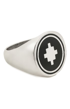Мужское кольцо MARCELO BURLON серебряного цвета, арт. CM0C006S21MET0017210 | Фото 1