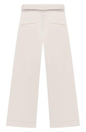 Детские джинсы LES COYOTES DE PARIS белого цвета, арт. 115-31-040   Фото 2