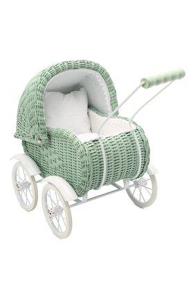 Детского игрушечная коляска для кукол MAGNI зеленого цвета, арт. 2985 | Фото 1