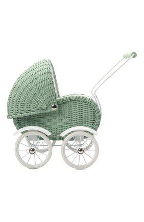 Детского игрушечная коляска для кукол MAGNI зеленого цвета, арт. 2985 | Фото 2