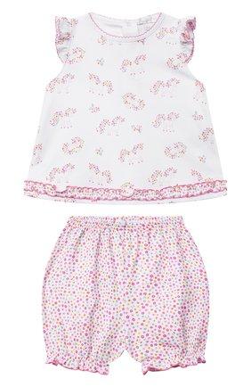Детский комплект из топа и шорт KISSY KISSY розового цвета, арт. KGD05994I | Фото 1