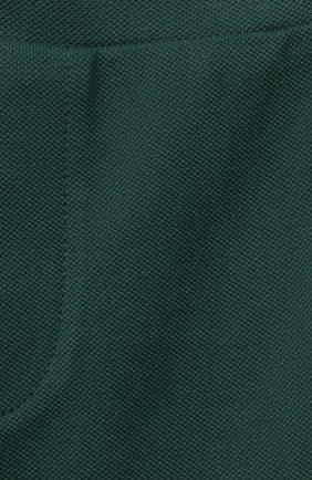 Детский комплект из поло и шорт MONCLER зеленого цвета, арт. G1-951-8M760-20-8496F   Фото 7