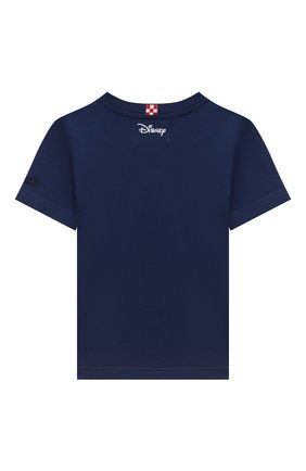 Детская хлопковая футболка MC2 SAINT BARTH синего цвета, арт. STBK TSHIRT B0Y/TSH0001/MKYPD7 | Фото 2