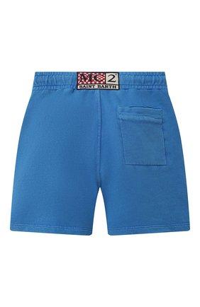 Детские хлопковые шорты MC2 SAINT BARTH синего цвета, арт. STBK RANDLE JR P/RANL007   Фото 2