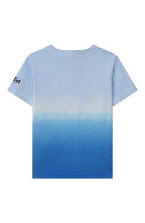 Детская хлопковая футболка MC2 SAINT BARTH разноцветного цвета, арт. STBK P0RT0FIN0 JR T/P0T0006 | Фото 2