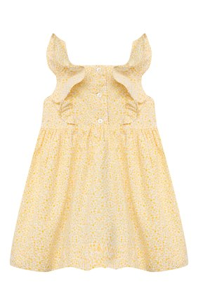 Женский комплект из платья и шорт POLO RALPH LAUREN желтого цвета, арт. 310835363 | Фото 2