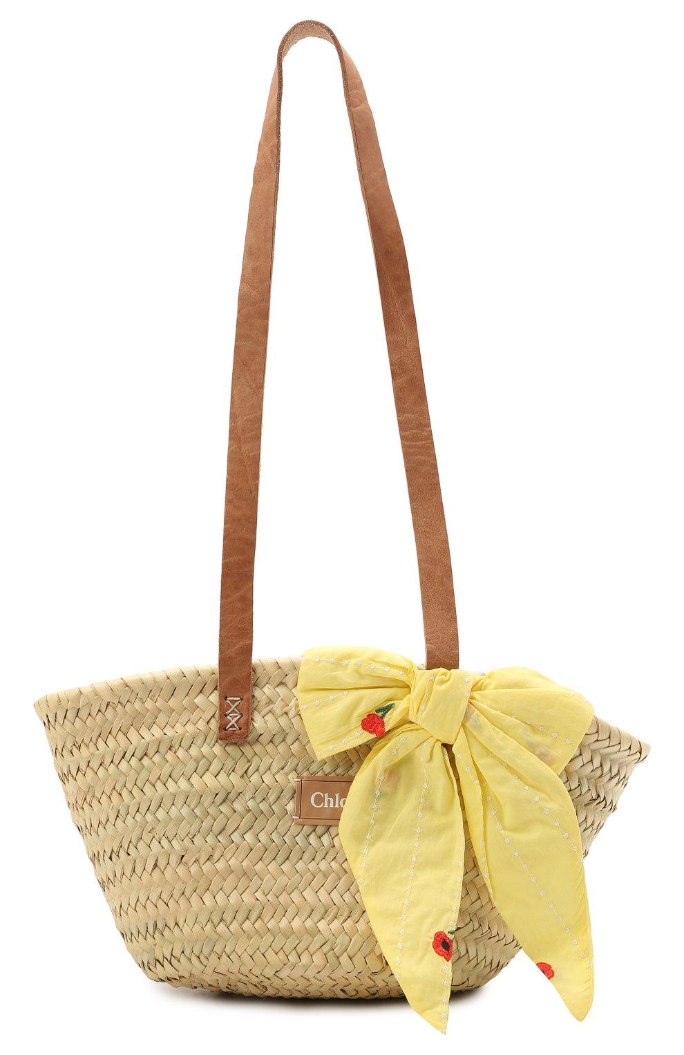 Детская сумка CHLOÉ разноцветного цвета, арт. C10280 | Фото 1
