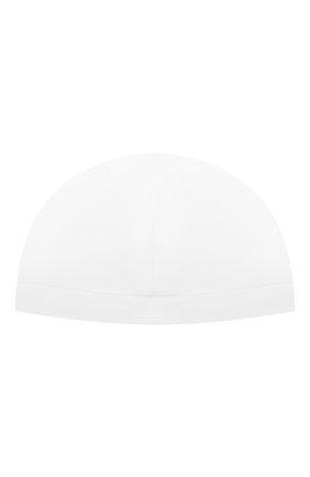Детского хлопковая шапка LES LUTINS PARIS белого цвета, арт. 21E528/B0NNET LUTIN 21E27 | Фото 2