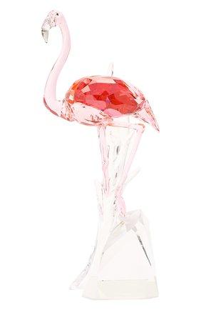 Скульптура flamingo SWAROVSKI розового цвета, арт. 5302529 | Фото 1