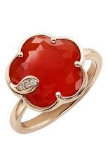 Женские кольцо PASQUALE BRUNI бесцветного цвета, арт. 16241R | Фото 1 (Драгоценные камни: Бриллианты; Материал сплава: Розовое золото)