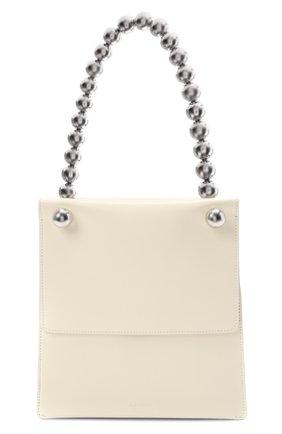 Женская сумка sphere JIL SANDER белого цвета, арт. JSWS852555-WSB00083N | Фото 1