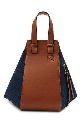 Женская сумка hammock small loewe x paula's ibiza LOEWE синего цвета, арт. A538S35X27 | Фото 1