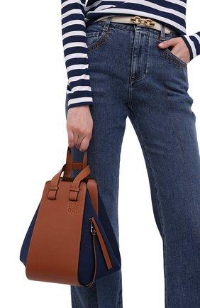 Женская сумка hammock small loewe x paula's ibiza LOEWE синего цвета, арт. A538S35X27 | Фото 2