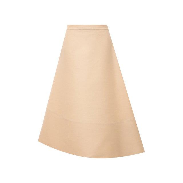 Шерстяная юбка Jil Sander