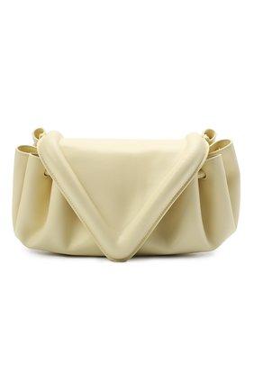 Женская сумка beak BOTTEGA VENETA желтого цвета, арт. 658523/VCP30 | Фото 1