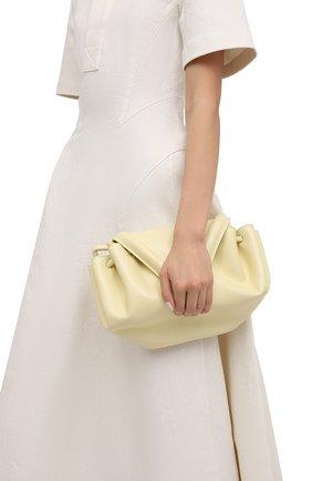 Женская сумка beak BOTTEGA VENETA желтого цвета, арт. 658523/VCP30 | Фото 2