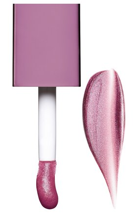 Мерцающее масло для губ lip comfort oil shimmer, 02 purple rain CLARINS бесцветного цвета, арт. 80074331 | Фото 2